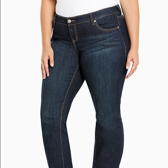 Torrid relaxed boot jeans - dark wash